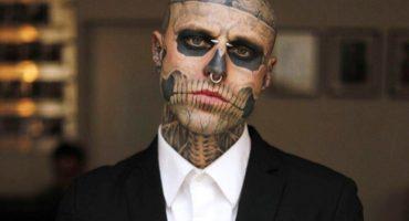 """Murió el modelo Rick Genest, """"Zombie Boy"""", a los 32 años"""