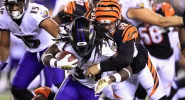 20 imágenes del triunfo de los Cincinnati Bengals sobre los Baltimore Ravens en la NFL