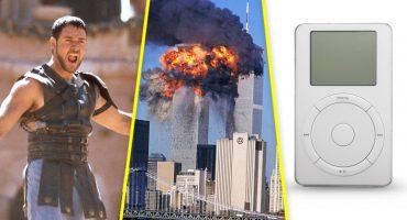 ¿Qué sucedió en 2001 además de los atentados del 11 de septiembre?