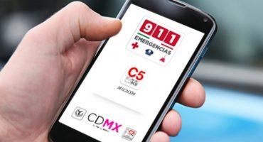 ¡Ahí va el agua! App '911 CDMX' alertará sobre fuertes lluvias en la CDMX