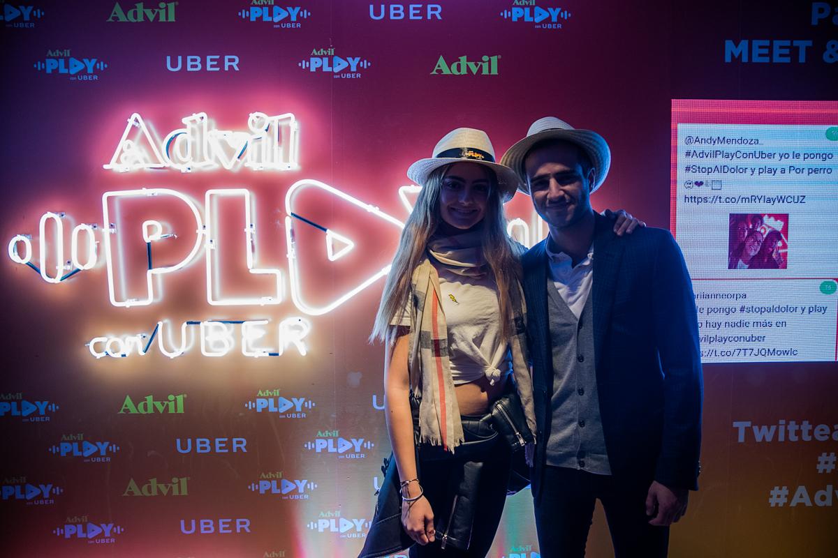 Advil Play con Uber 17