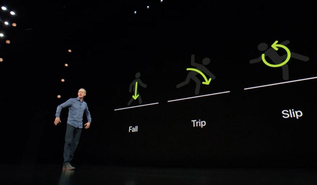 Apple Watch 4 detecta caídas