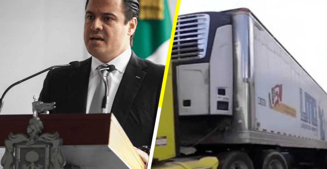 Gobernador de Jalisco promete refrigerador para más de 300 cadáveres
