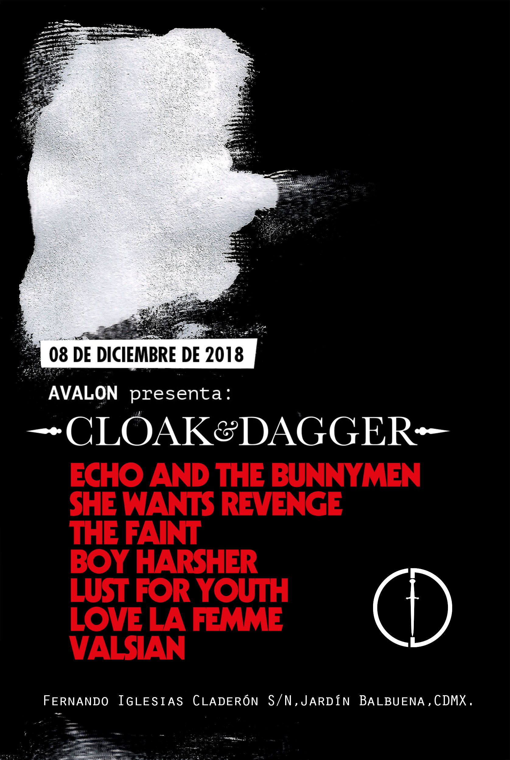 Cloak & Dagger, el nuevo festival que llega a México con Echo And The Bunnymen