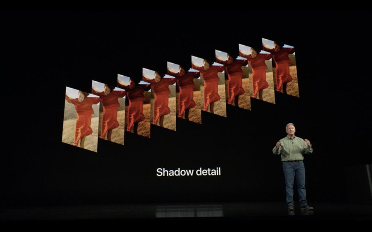 Camara del nuevo iPhone XS