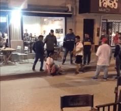 Aficionados de Boca y River protagonizaron bronca: golpearon a una mujer