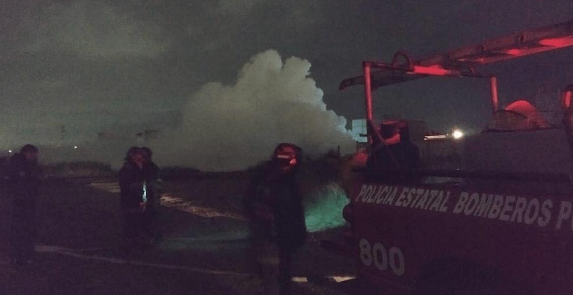 Evacuan zona de Central de Abastos en Puebla por fuga de gas