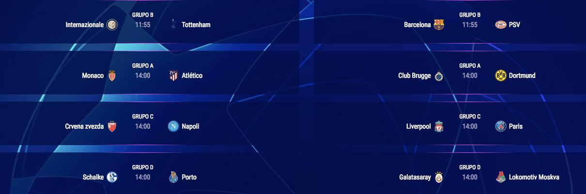 Todo lo que debes saber sobre el arranque de la Champions League