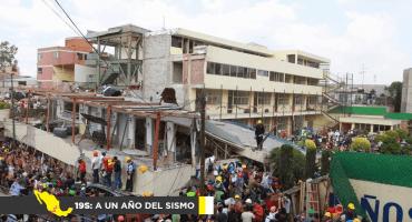 19S: A un año del sismo: Ni un Rébsamen más y la búsqueda de justicia