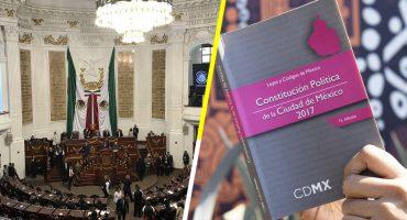 Acá lo que tienes que saber sobre la nueva Constitución CDMX y el Congreso local