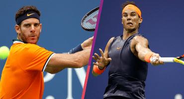3 datos de la semifinal del US Open entre Del Potro y Nadal