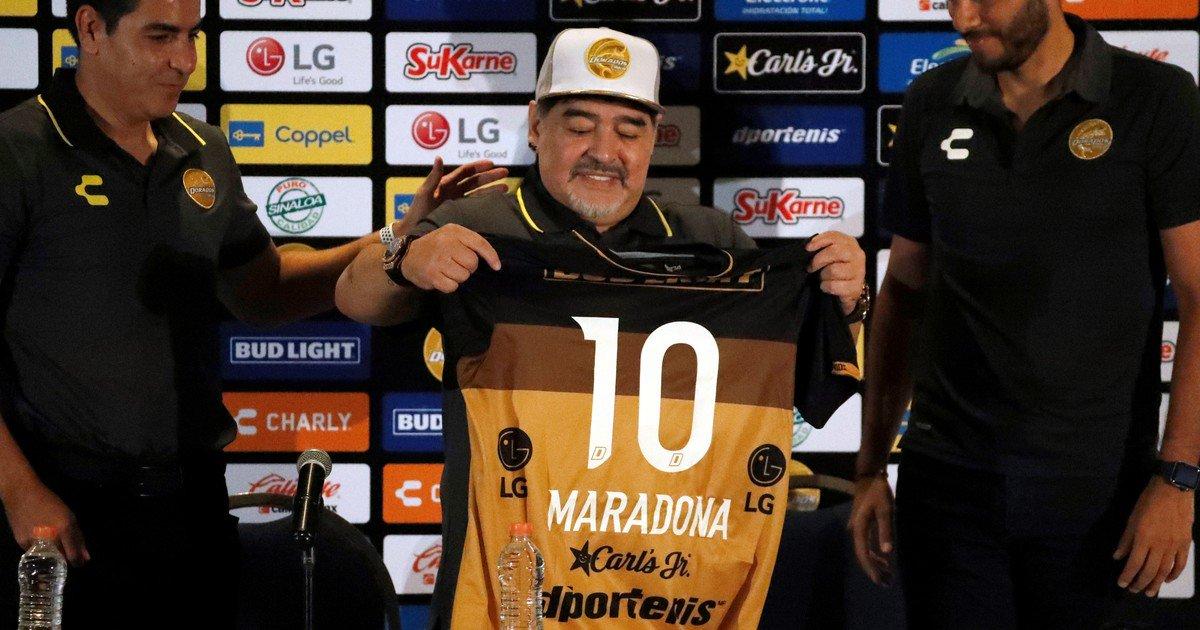 Â¡Tiembla Luis Mi! Se viene la serie de Diego Armando Maradona