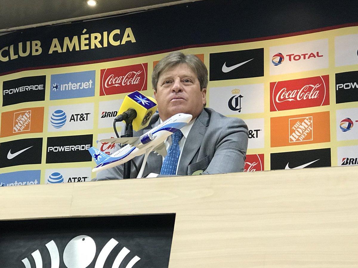 """'Piojo' Herrera señala """"culpable"""" de la eliminación del América en Copa MX"""