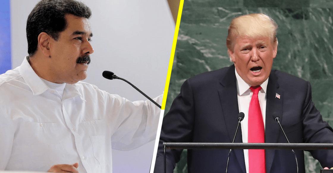 Trump dice estar dispuesto a reunirse con Maduro, todo por 'el bien' de Venezuela