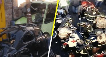 Microbús arrolla a transeúntes en GAM, hay al menos 10 heridos