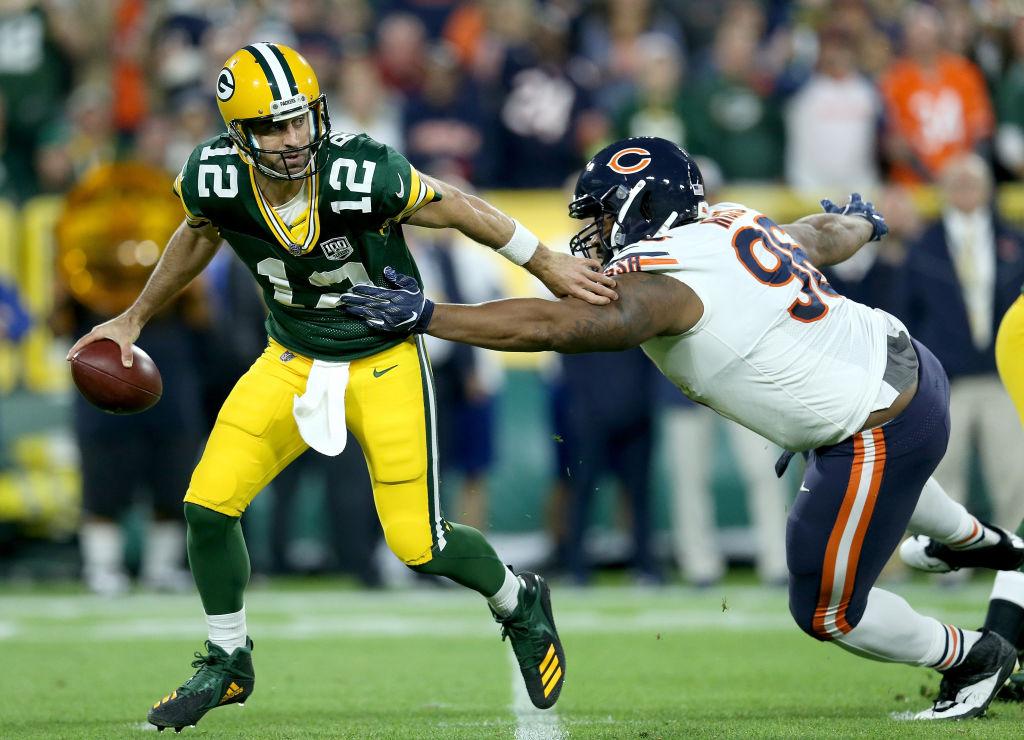 25 imágenes del triunfo de los Chicago Bears sobre los Green Bay Packers