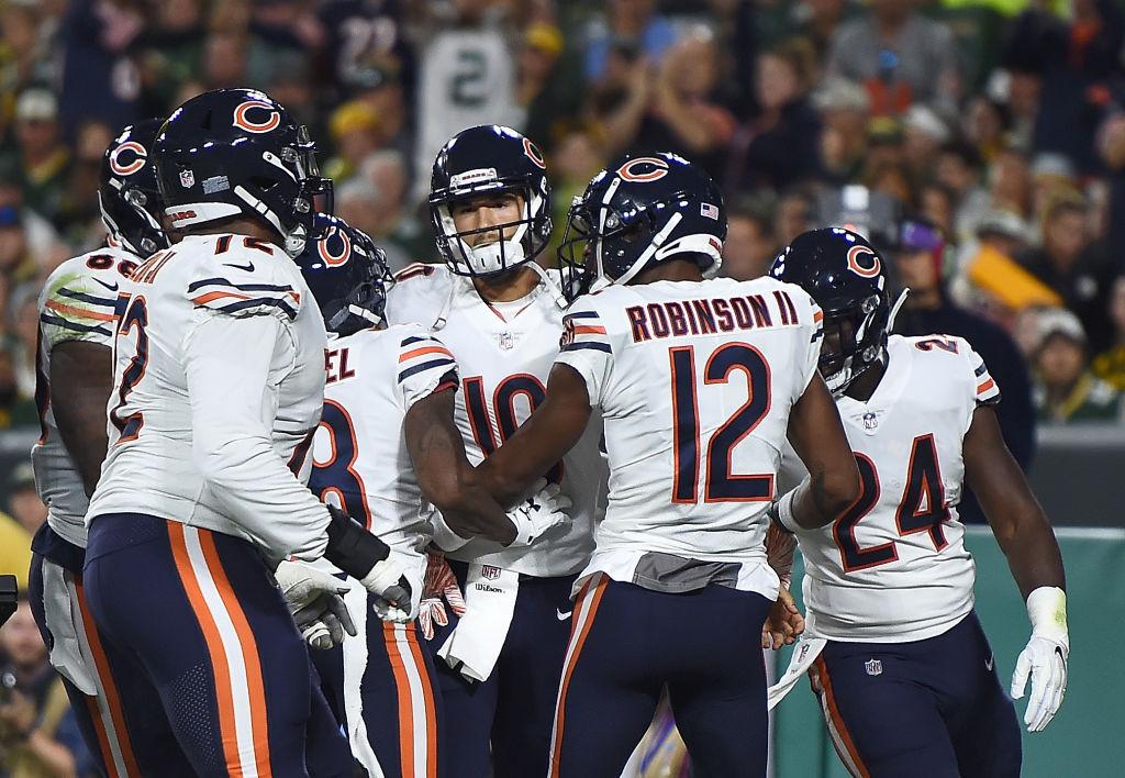 20 imágenes del triunfo de los Green Bay Packers sobre los Chicago Bears