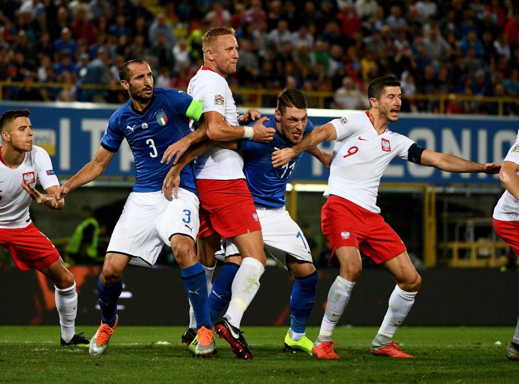 UEFA acusa de racismo a Polonia en la Nations League