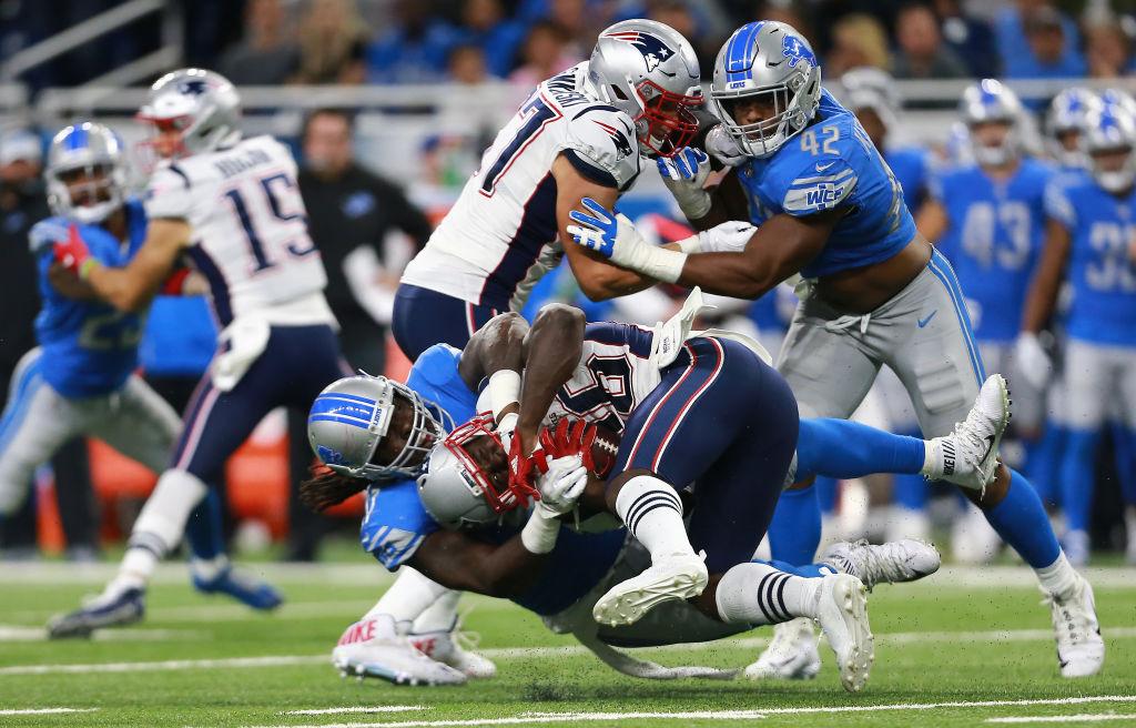 20 imágenes del triunfo de los Detroit Lions sobre los New England Patriots