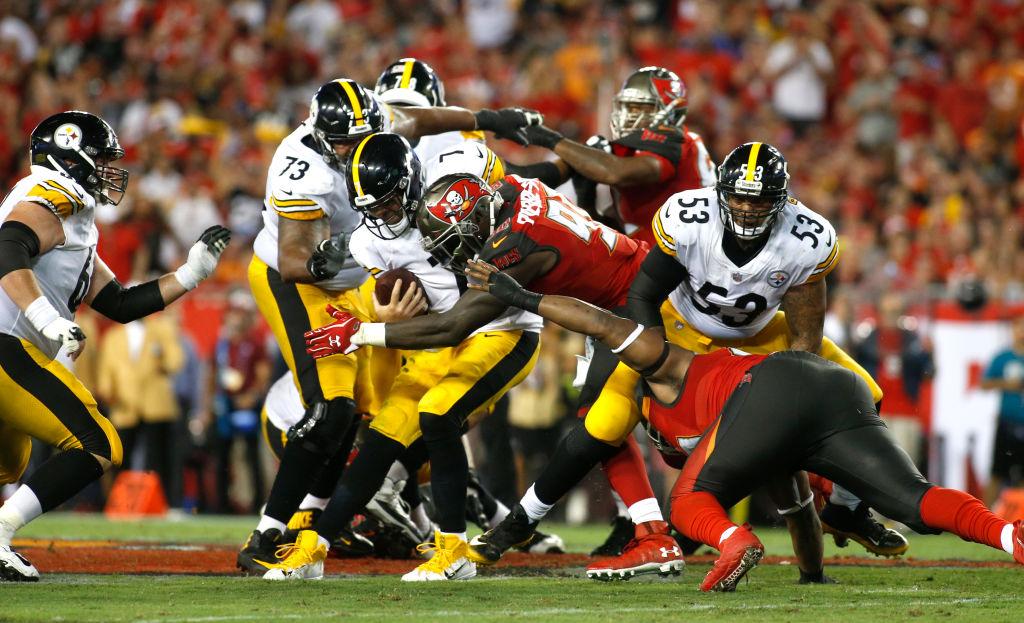 En imágenes el triunfo de los Pittsburgh Steelers sobre los Tampa Bay Buccaneers