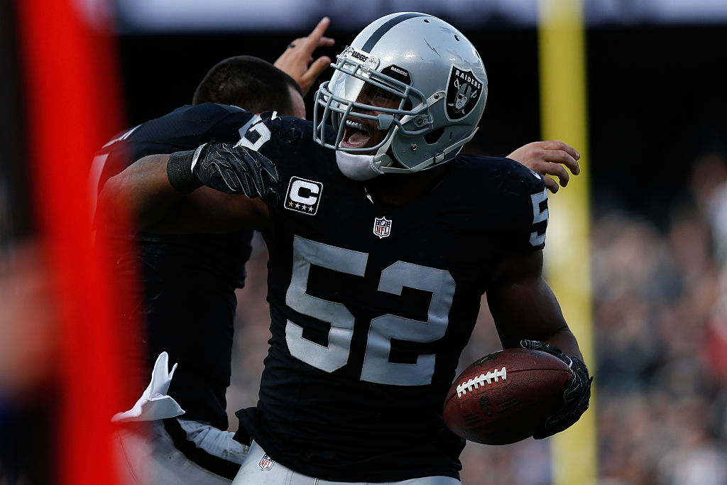 Habría acuerdo entre Raiders y Bears para llevarse a Khalil Mack