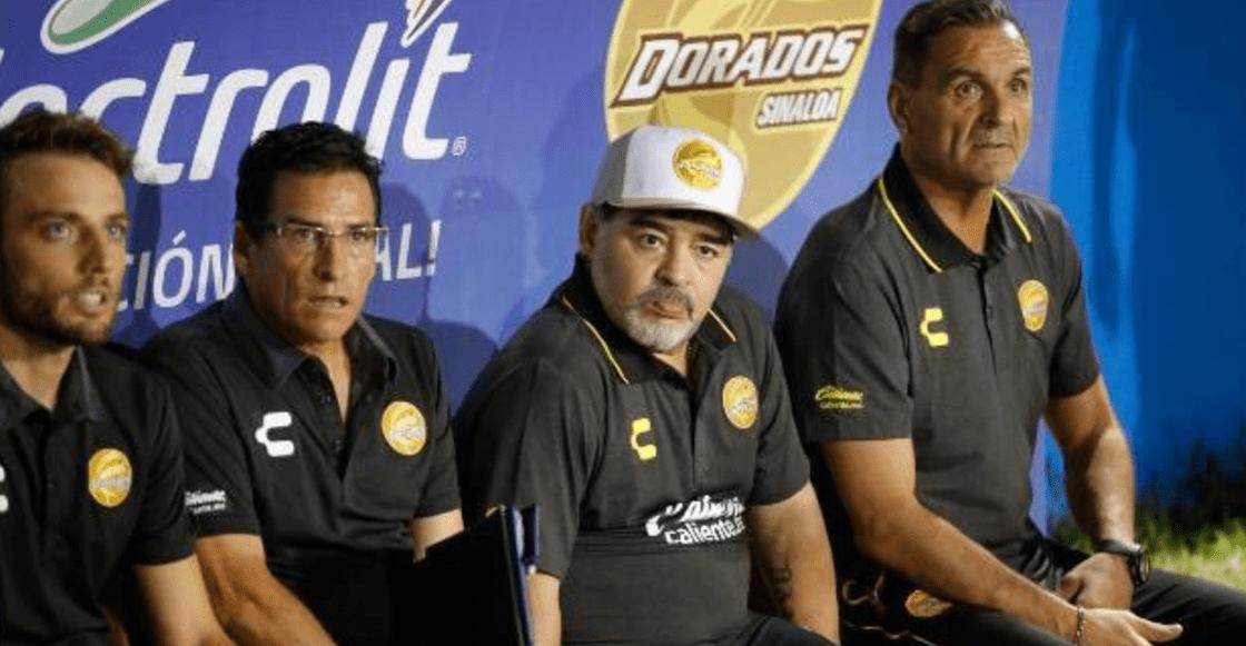 Checa los goles del triunfo de Dorados en el debut de Maradona