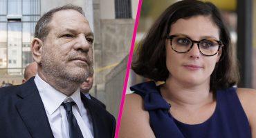Aparece video de Harvey Weinstein tocando a quien lo acusó de violación