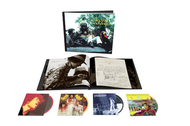 Habrá un enorme box set de Jimy Hendrix por los 50 años de 'Electric Ladyland'