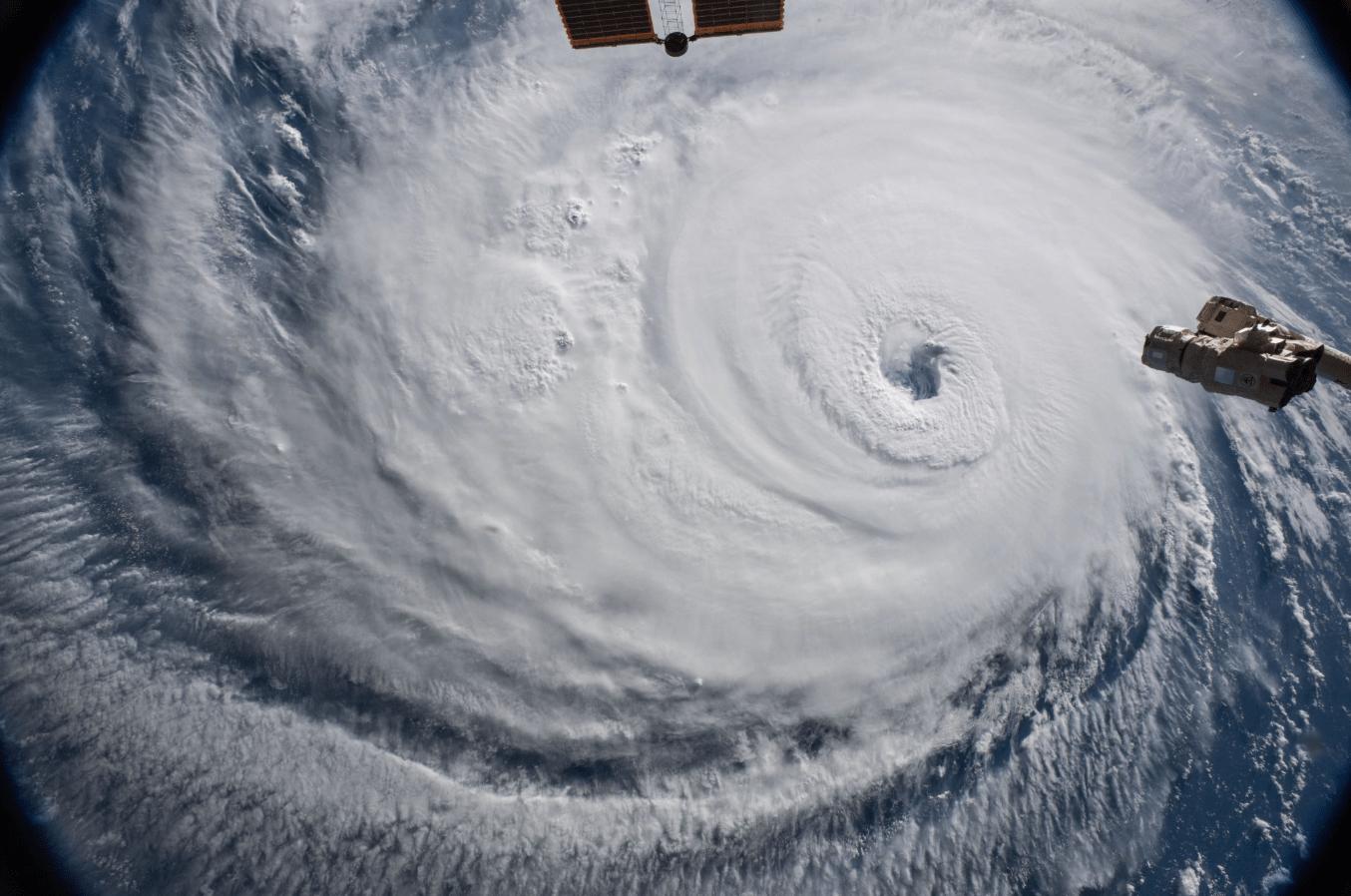 En imágenes: Así se ve el huracán 'Florence' desde el espacio