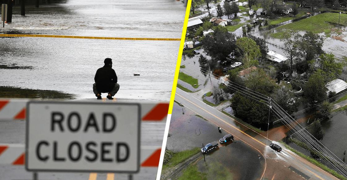 En imágenes: 'Estado de emergencia' en Carolina del Sur y Carolina del Norte, por Florence