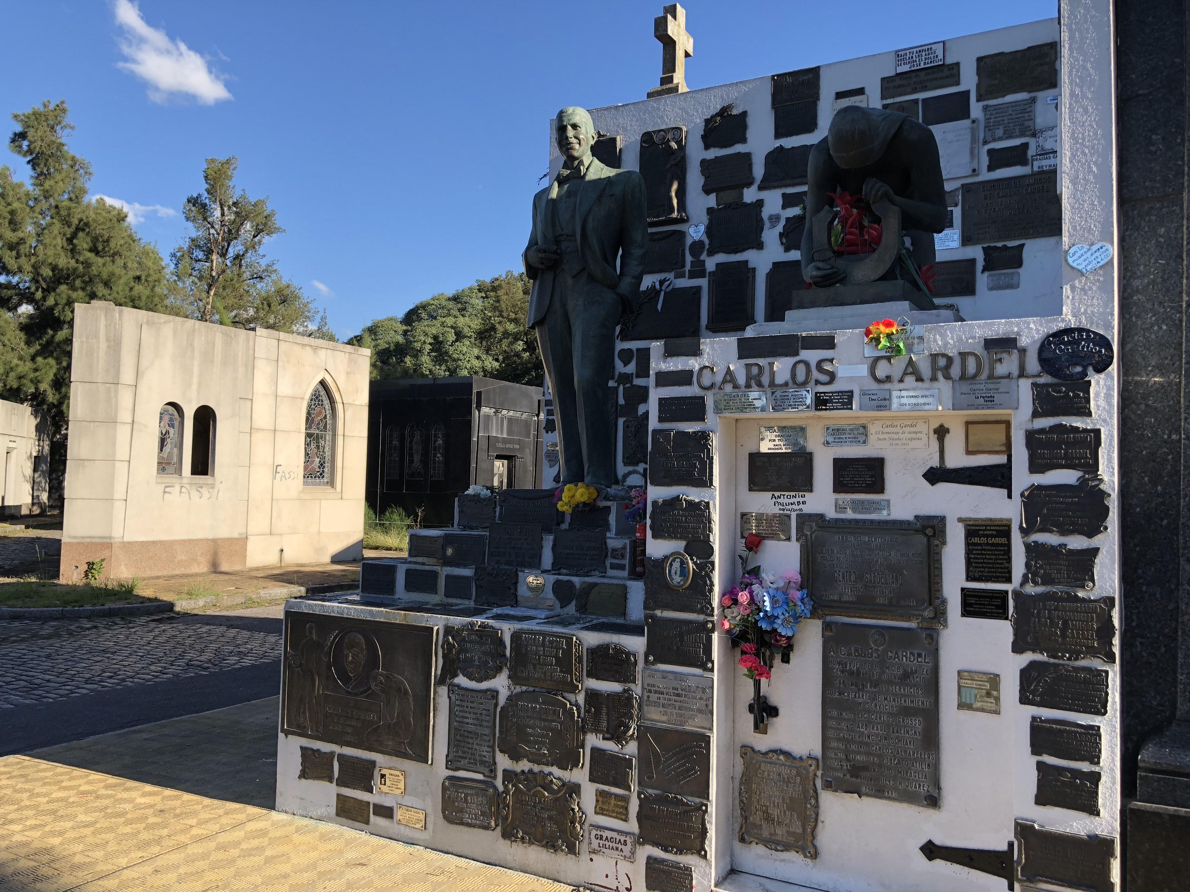 Cerati infinito: Así es la tumba de Gustavo en Argentina