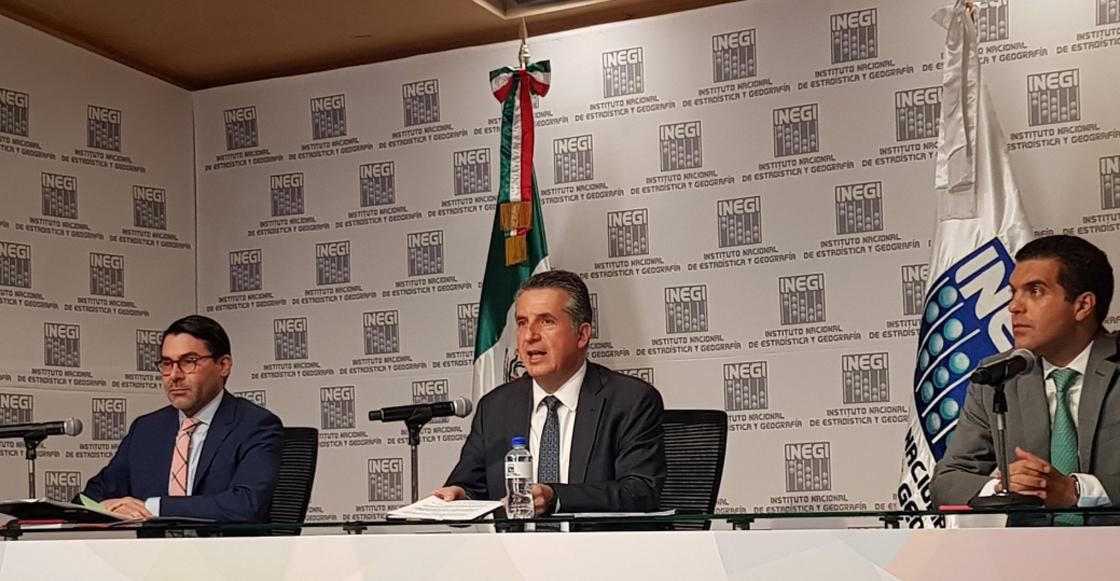 """Dice presidente del INEGI que el aumento de sueldo """"está en el marco legal vigente"""""""