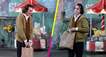 El primer vistazo a Joaquin Phoenix como Joker es totalmente asombroso