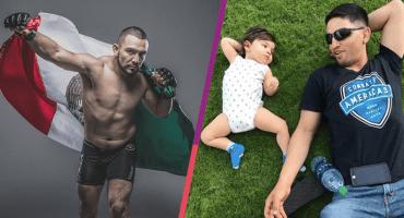 José Alday, el mexicano de MMA motivado por la lucha diaria de su hijo con lisencefalia