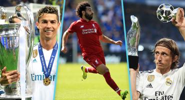 Los números de Cristiano, Salah y Modric, los nominados a The Best