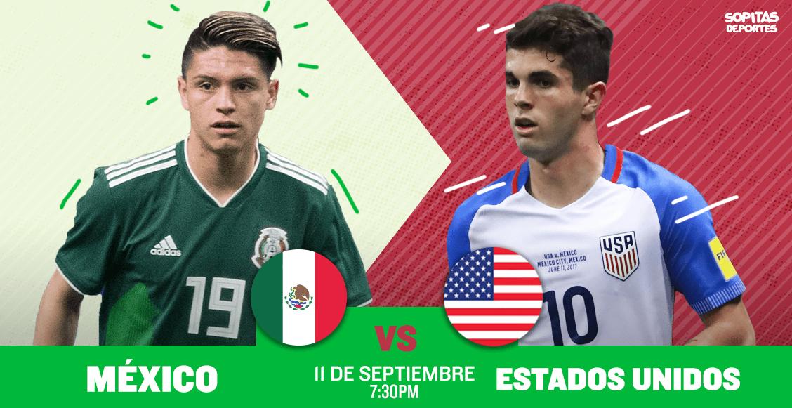 ¿Dónde, cuándo y cómo ver en vivo el México vs Estados Unidos?