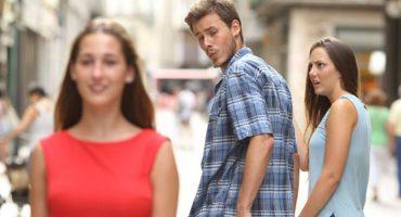 ¡Ups! En Suecia consideran sexista al meme del novio distraído
