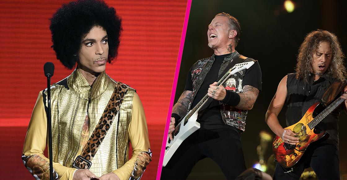 Metallica improvisó un cover de Prince y no sabemos qué pensar