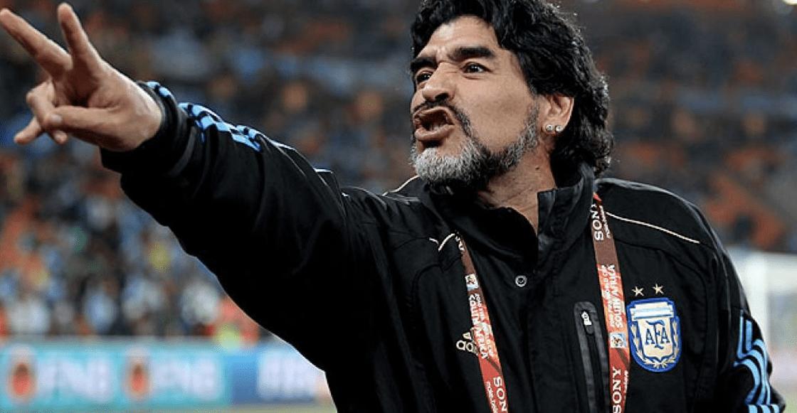 ¡Oficial! Diego Armando Maradona nuevo DT de Dorados de Sinaloa
