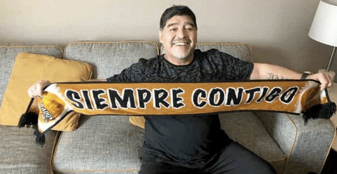 ¡KHA! El empresario que trajo a Maradona a Dorados ligado al narco