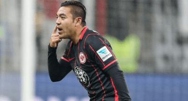 Reaparece Marco Fabián como titular en el Eintracht Frankfurt