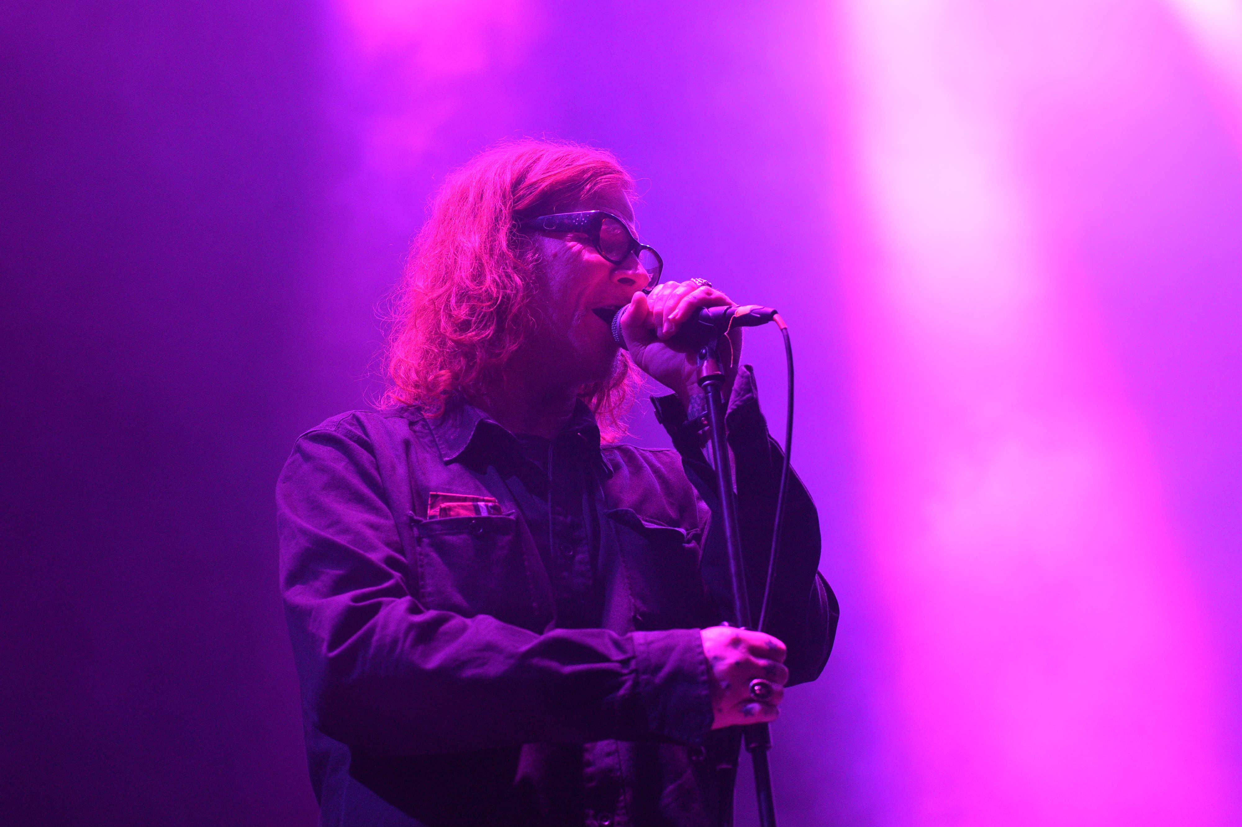 MArk Lanegan en El Plaza Condesa