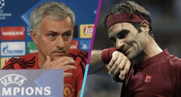 ¡Como dos gotas de agua! Mourinho se comparó con Roger Federer