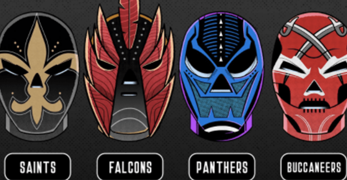 La NFL celebra el 15 de septiembre... ¡Con máscaras de luchadores!
