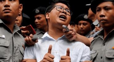 Gobierno de Myanmar condena a 7 años de prisión a periodistas de Reuters