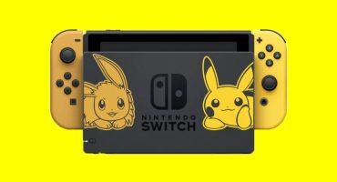 Nintendo Switch primera edición especial Pokémon Pikachu Eeevee