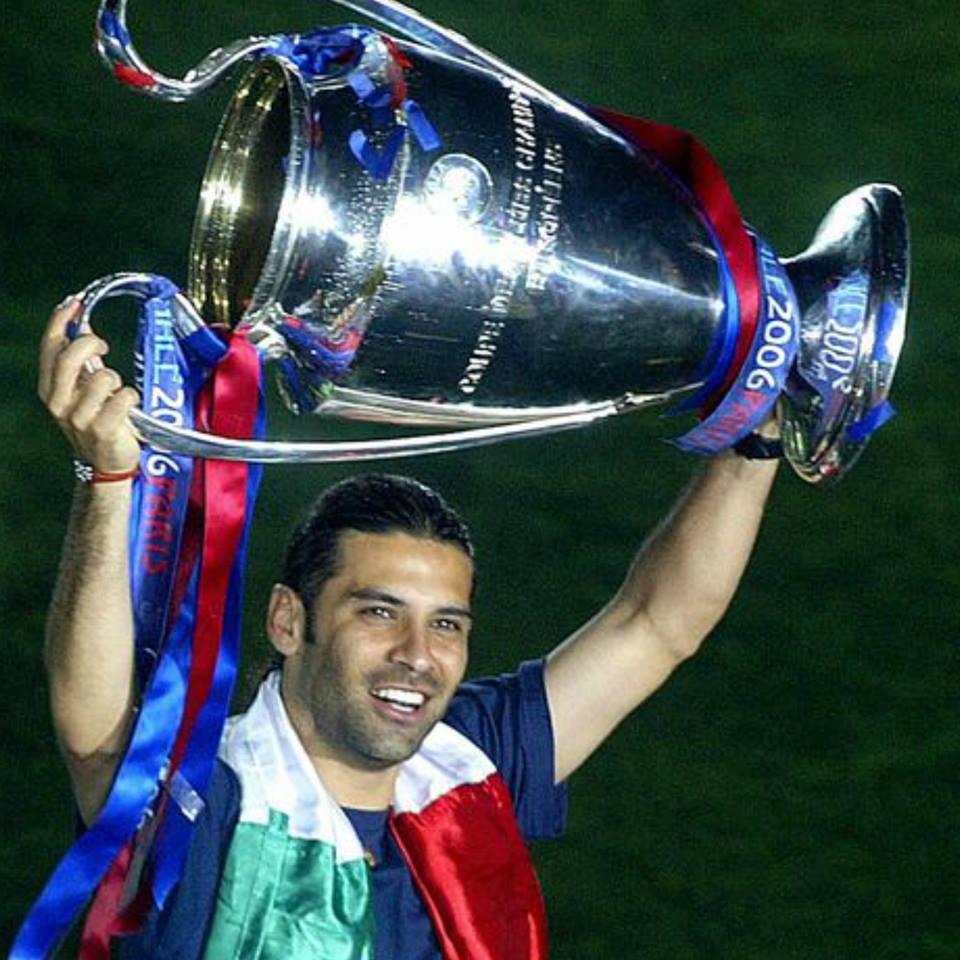 Rafa Márquez lo consiguió dos veces como jugador del Barcelona, tanto en 2006 como en 2009.