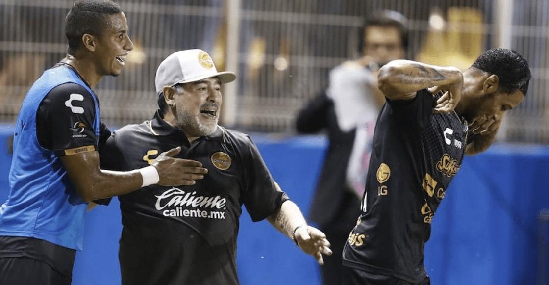 Así reaccionaron en Argentina tras el debut de Maradona con Dorados