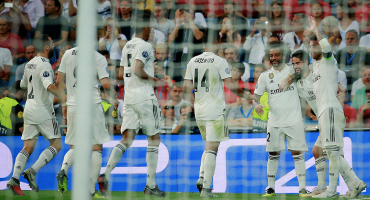 Real Madrid se impone a la Roma; 'CR7' expulsado pero la Juventus gana