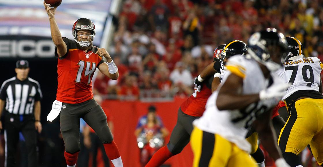 Steelers consigue primera victoria tras vencer a los Bucs